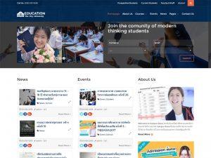 Education เว็บไซต์เพื่อการศึกษา กวดวิชา  เรียนต่อต่างประเทศ